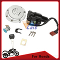 Motorcycle Bike Fuel Cap Tank Cover Ignition Switch Seat Lock Key Set For Honda CBR 1000RR 2004 2005 2006 2007