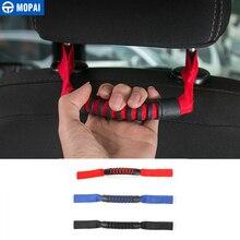 MOPAI 2 шт. салона подлокотник переднее сиденье подголовник захват ручки Комплект для Jeep Wrangler TJ CJ YJ JK JL автомобильные аксессуары для укладки