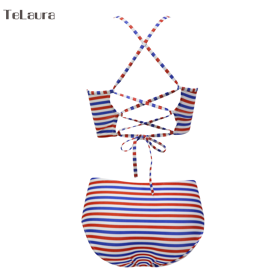 Sexy High Neck Bikini, Women's Swimwear, Push Up Swimsuit, Brazilian Bikinis, Women Bathing Suit 46