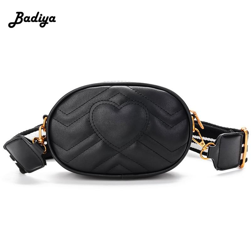 все цены на Lovely Messenger Bags Ladies Pu Leather Waist Bag Women Brand Organizer Phone Wallet Belt Bag Crossbody Bag Female Red Black