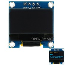 OPEN-SMART 0.96″ 128 x 64 I2C Interface Yellow and Blue OLED Display Module Board for Arduino