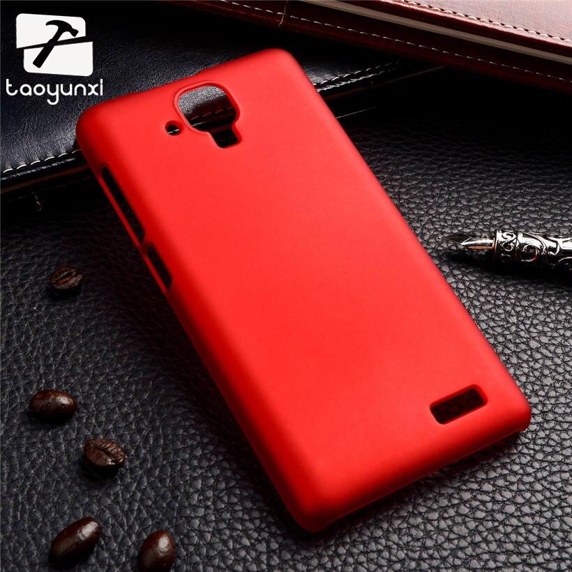 TAOYUNXI жесткий Пластик чехол для lenovo A536 случаях ультра тонкий матовый матовая задняя крышка для lenovo 536 покрывает fundas кожи