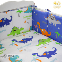 Newborn Bedding Set for Crib Cot Bedding Organizer New Cotton Baby Crib Cot Bumper and Sheet Children Nursery 140*70cm 120*70cm