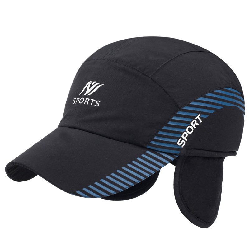 Hiver et printemps ombre chapeau de soleil unisexe épais coton cap os bord cool mode homme femmes visor casquettes 10 pcs