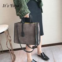 It S YiiYa 4 Colors New Women HandBag Fashion Casual Tote Handbags Crossbody Bags High Capacity
