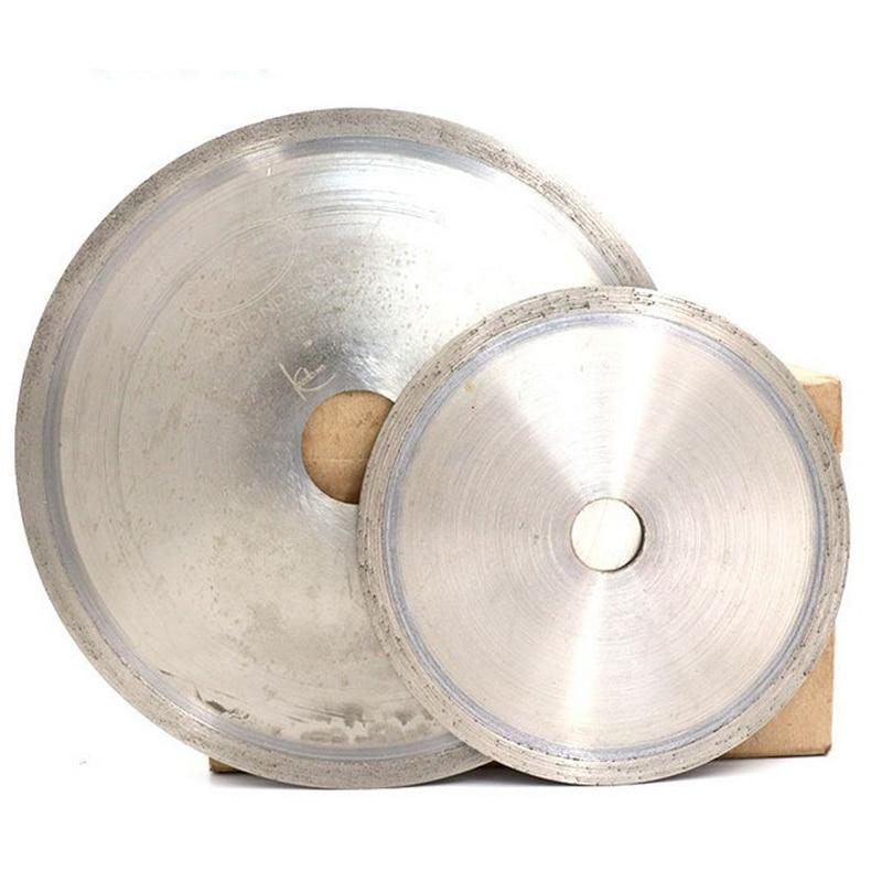 URANN 110mm 150mm 160mm 200mm 250mm 300mm 400mm Diamond Saw Blade Jade Gemstone Crystal Agate Cutting Disc Slice