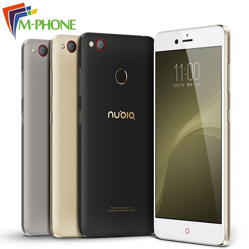 Original ZTE Nubia Z11 mini S miniS 23 0MP Camera Mobile Phone Snapdragon Octa Core 5