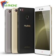 D'origine ZTE Nubia Z11 mini S miniS 23.0MP Caméra Mobile Téléphone Snapdragon Octa Core 5.2 pouce 4 GB 64 GB Android 6.0 D'empreintes Digitales ID