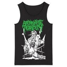 Bloodhoof abominable putridity Hard Metal Deathcore в стиле рок-панк, мужское черное Топ Без Рукавов азиатского размера