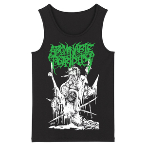 Image 1 - Bloodhoof abominable putridity Hard Metal Deathcore Rock Punk mens top black Tank Tops Asian Size