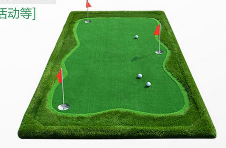 Top quality 1*3M Putting Green Golf Training Aids Mini golf exercise blanket Golf accessories стоимость