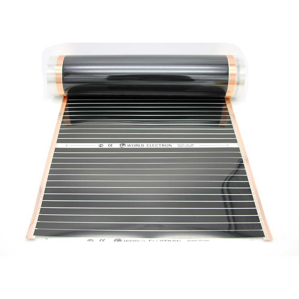 Image 3 - 50m2 New Electric Floor Heating Foil Can Controlled by Smart Wifi Floor Heating Thermostat Far Infrared Film Heater For PeopleFloor Heating Systems & Parts   -