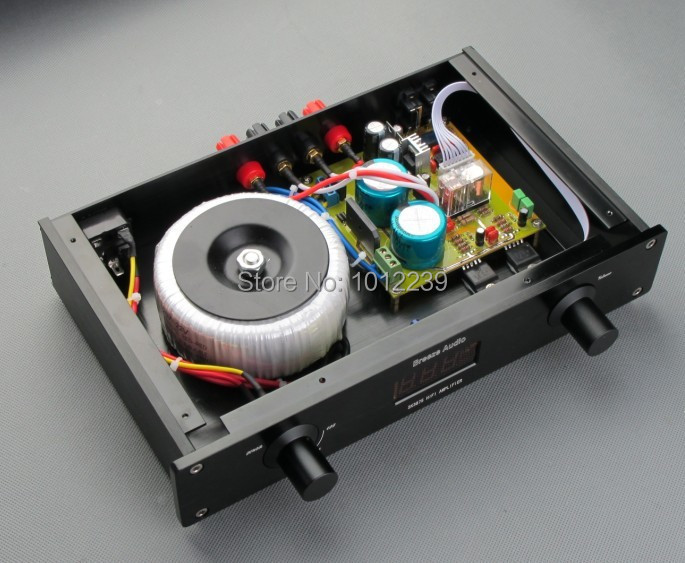 hot sale 50W+50W amp machine/PGA2311 desktop remote amplifier + SK3875