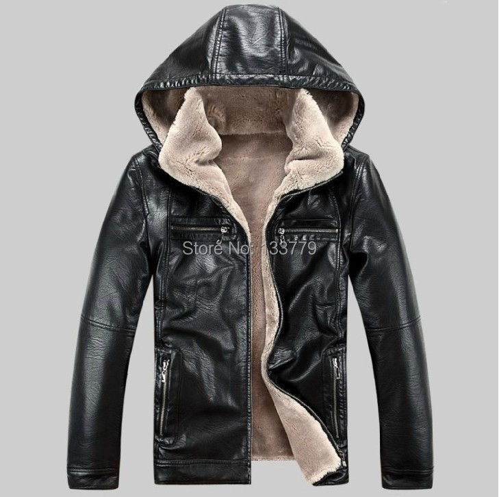 92b7a2007 US $138.47 |New Sheepskin winter men's leather jackets men fur genuine belt  cap leather jacket male Outdoor Sports locomotive fur coat,brown-in Faux ...