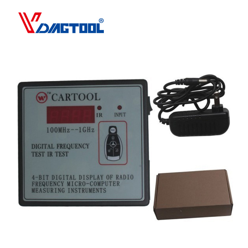 New Car IR Infrared <font><b>Remote</b></font> <font><b>Key</b></font> Frequency <font><b>Tester</b></font> (Frequency Range 100-1000MHZ) <font><b>Remote</b></font> Control Digital Frequency Test CARTOOL image