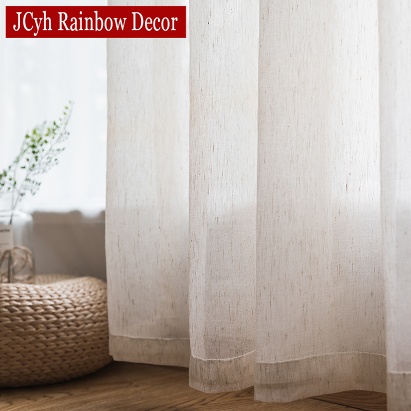 Solid Tulle Curtains For Living Room Bedroom White Sheer Curtains Organza Voile Window Curtains Fabric Blinds Drapes Cortinas