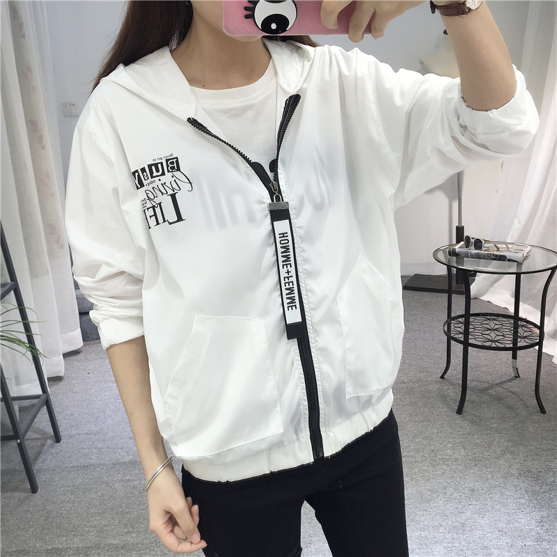 Jackets   Women 2018 New Fashion Women   Basic     Jacket   Hooded Thin Outwear Windbreaker Summer Casual Plus Size Female Coat