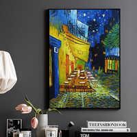 Night Cafe Cafedusoir Van Gogh Riproduzioni Della Pittura a Olio Dipinto a Mano Dipinti Ad Olio su Tela Astratta per La Camera da Letto Decorazione Della Parete di Arte