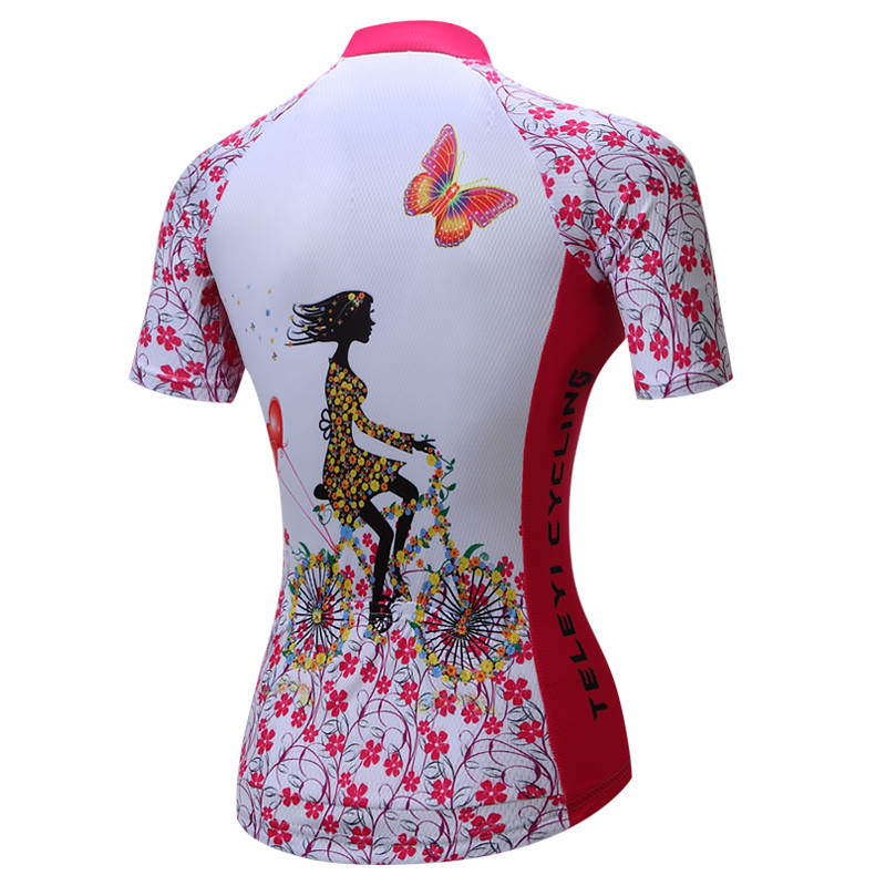 Weimostar Women Cycling Jersey Set Gel Pad Mountian Bicycle Cycling Clothing Summer MTB Bike Jersey Suit Ropa conjunto ciclismo