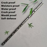 Титановая металлическая флейта CDEFG ключ имитация соединитель в виде бамбука Flauta Профессиональный музыкальный инструмент самообороны оруж
