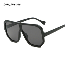 Longkeeper Brand Oversized Sunglasses Women Fashion 2019 Lar