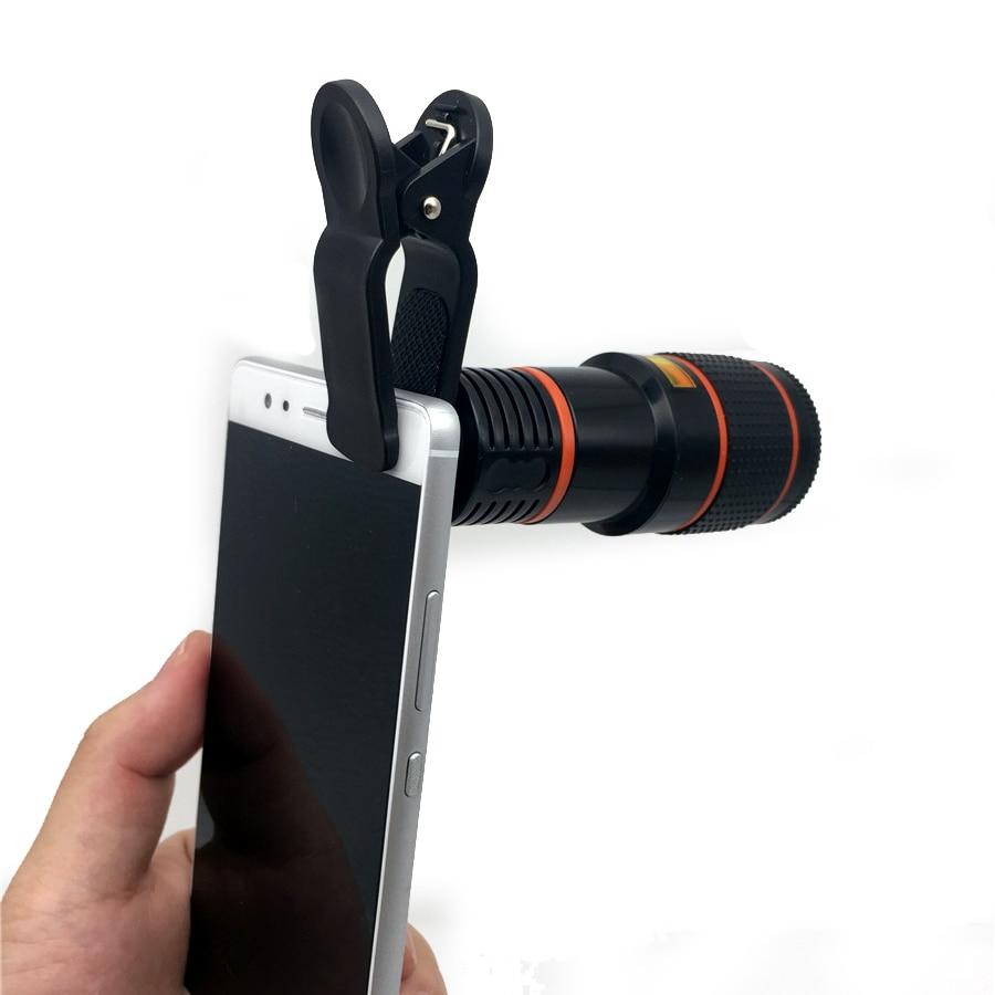 Universal 12X Zoom Telephoto Lens Mobile Phone Telescope Lens ...