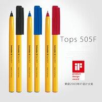 LifeMaster Топы Schneider 505F Желтый корпус супер большой объем чернил шариковая ручка черный/синий/красный принадлежности для письма
