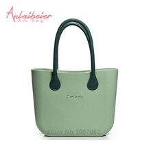 Anlaibeier ambag классический Для женщин сумки модные obag Стиль Большой Классический ambag тела с красочными ручки DIY