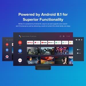 Image 5 - Original versión Global Xiaomi mi box S Android 8,1 4 K Quad Core Smart TV Box 2 GB 8 GB HD mi 2,4G 5,8G WiFi Mali 450 1000Mbp