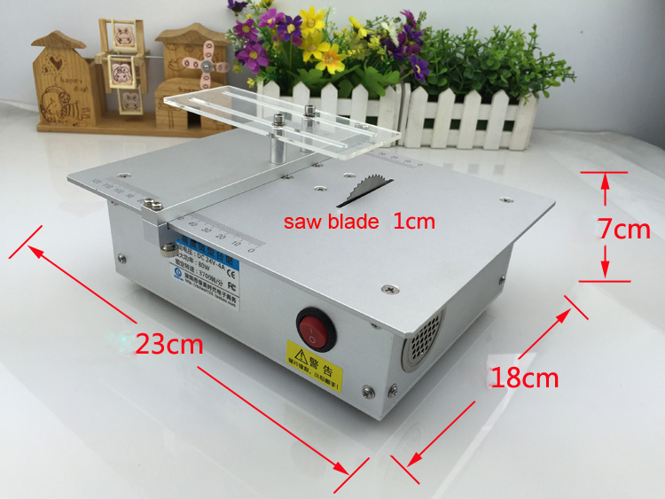 Buy Aluminum Alloy Micro Table Saw High Precision Pcb Cutting Machine Mini Diy