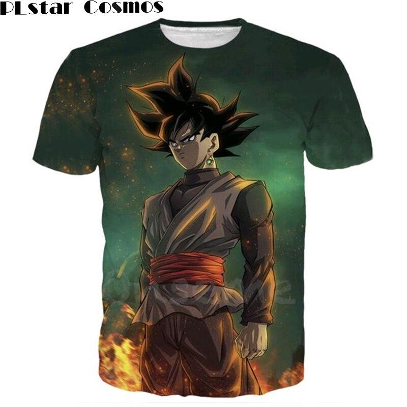 PLstar Cosmos camiseta El más nuevo clásico Anime Dragon Ball Z - Ropa de hombre