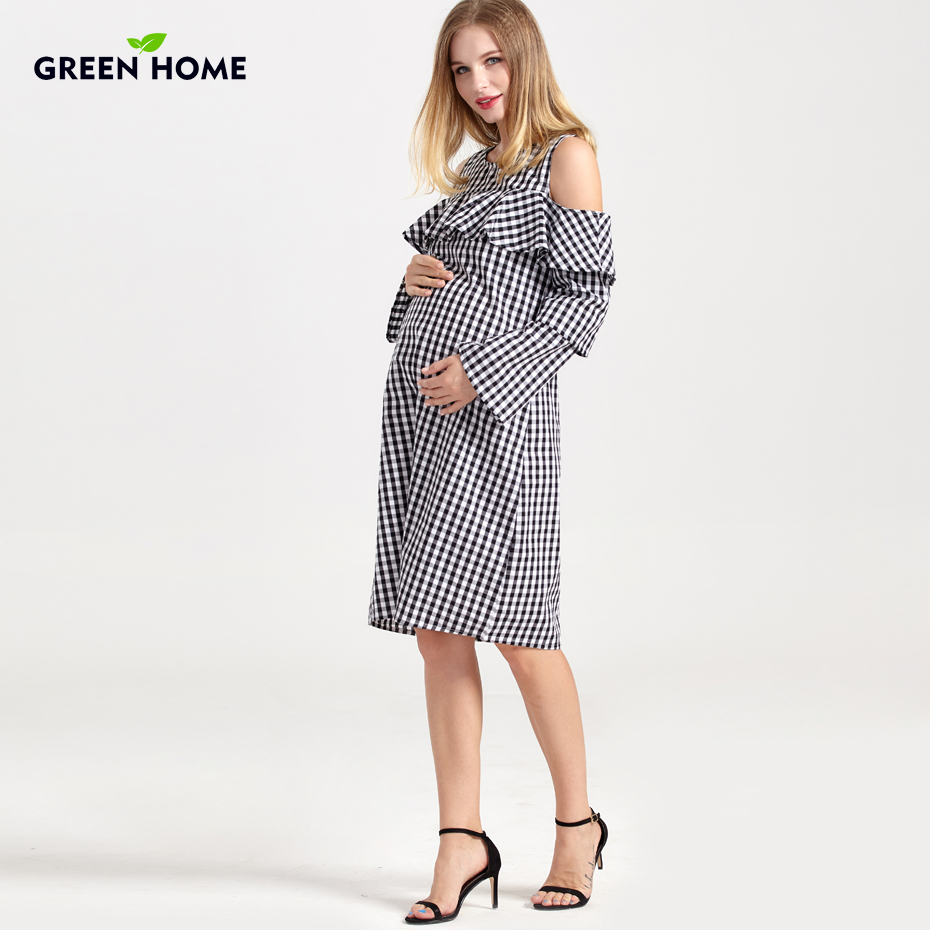 Green home winter special design breastfeeding nursing dress hole green home winter special design breastfeeding nursing dress hole casual plaid pregnancy dresses for women maternity clothing in dresses from mother kids ombrellifo Image collections