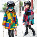 Hooded Girls Coat Autumn Winter Warm Kids Jacket Outerwear Children Clothing