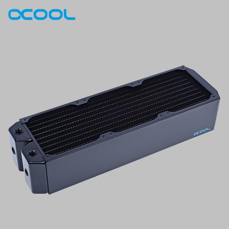 Original Alphacool NexXxoS Monsta 80mm thickness 120 3mm 360mm copper radiator 12cm fan watercooler heat sinks