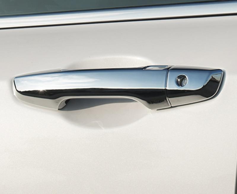 ABS Chrome Door Handle Cover Trim For Honda CR-V CRV 2017 2018