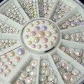5 pcs Encantos Do Prego 3d Decorações Da Arte Do Prego Acrílico Formas de Diamante de Cristal Strass Para Unhas Arte Acessórios Hot Wheels