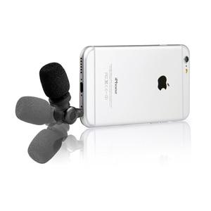 Image 2 - Saramonic SmartMic esnek kondenser mikrofon Mic w/için yüksek hassasiyetli IOS iPad iPhone 5/6/7 iPod dokunmatik akıllı telefon