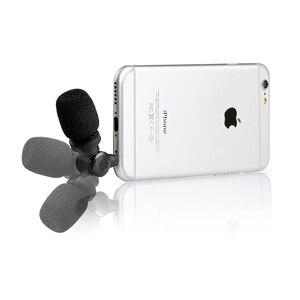 Image 2 - Saramonic SmartMic micro à condensateur Flexible avec haute sensibilité pour IOS iPad iPhone 5/6/7 iPod Touch Smartphone