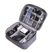 Travel Accessory Cable Bag Portable Digital USB Electronic Organizer Gadget Case Travel Cellphone Charge Mobile Charger Holder