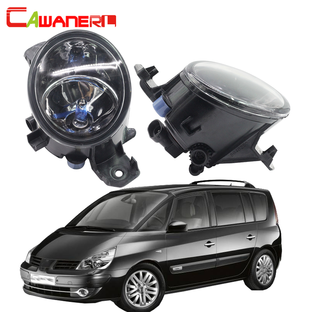 Cawanerl 2 X 100W H11 Car Halogen Fog Light Daytime Running Lamp DRL 12V Styling For Renault Espace 4/IV (JK0/1_) MPV 2003-2012 cawanerl 2 x car led fog light drl daytime running lamp accessories for nissan note e11 mpv 2006