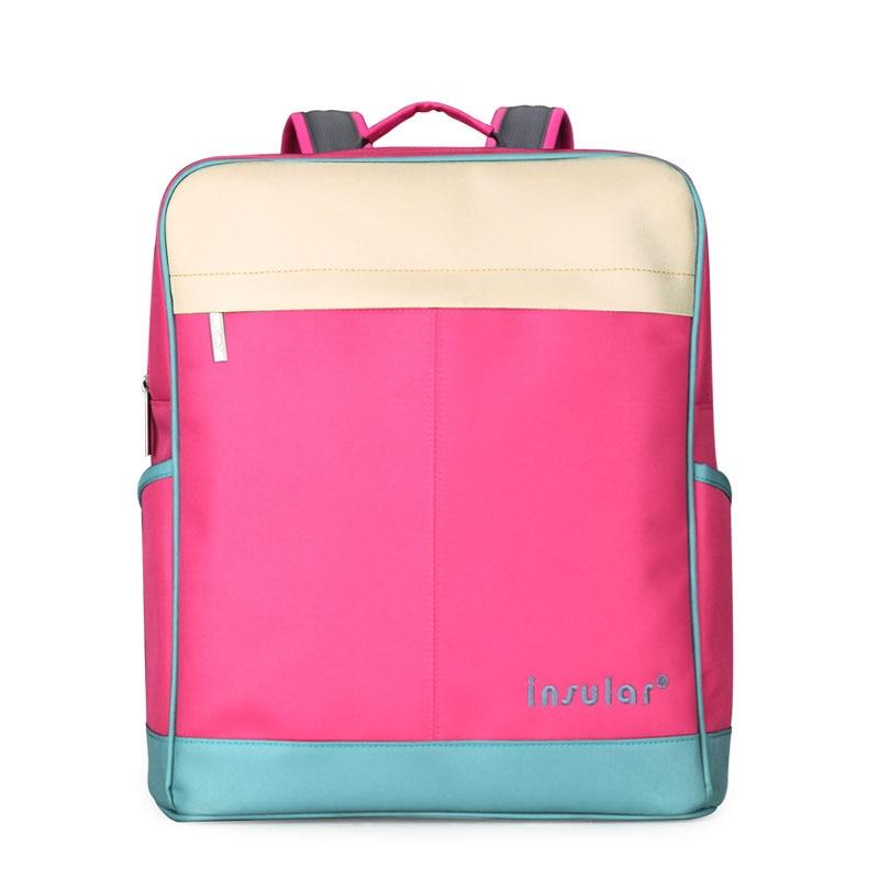 Modes maternitātes autiņbiksīšu soma Bērnu soma Ceļojuma - Autiņbiksītes un tualetes apmācība
