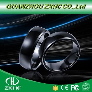 125KHZ or 13 56MHZ RFID Ceramics Smart Finger B Ring Wear for Men or Women
