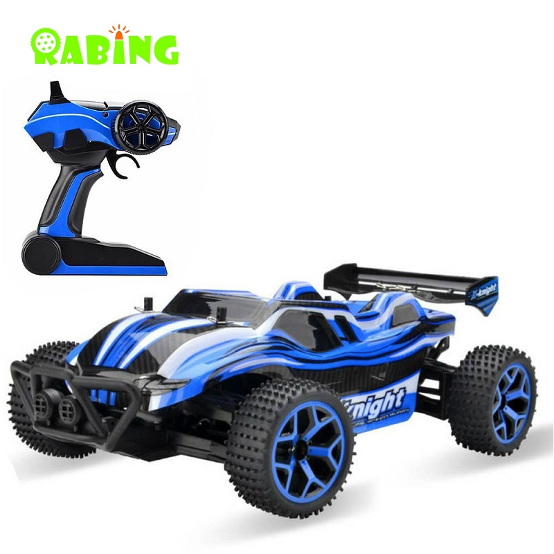 Machine On The Remote Control RC Cars Blue Racing Cars High Speed 20km/h 1:18 4WD Electric Truck 2.4GHz Radio-controlled RC Car microgear radio controlled rc grasshopper flying in the air