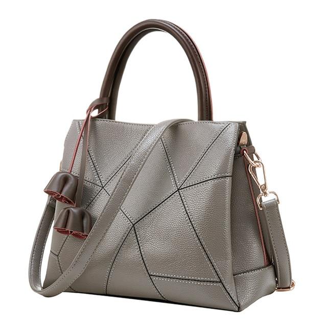 83bc8daf35df Women s handbag 2018 autumn winter handbags for women casual fashion  shoulder bags Messenger tassel Red gray