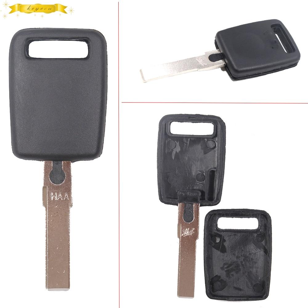 KEYECU New Replacement Transponder Key Shell Fob For Skoda Felicia Octavia Fabia Superb Uncut Bank Blade