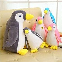 Creative Lovely Penguin Short Plush Toy Stuffed Animal Toy Soft Plush Doll Children Christmas Gift