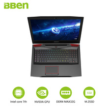 Bben Gaming Laptop Notebook 17.3″ FHD IPS Screen i7-7700HQ Quad Core Processor GTX1060 6G Dedicated Card 16G/512G SSD+500G HDD