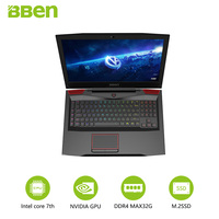 Bben Gaming Laptop Notebook 17 3 FHD IPS Screen I7 7700HQ Quad Core Processor GTX1060 6G