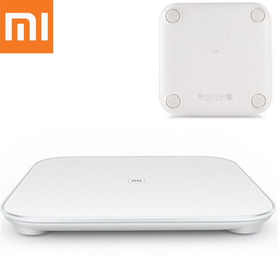 Original Xiaomi Scale Mi Smart Health Weighing MiScale Electronics Bluetooth4.0 Lose Weight Digital Scale Android 4.4 iOS 7.0
