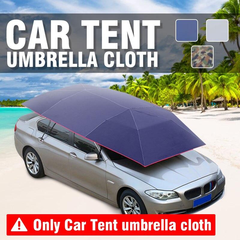 400x210 cm voiture parapluie pare-soleil extérieur protecteur Auto tente parapluie parasol couverture de toit imperméable Anti UV